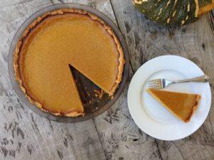 Pumpkin pie recipe healthy gratitude